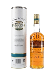 Bowmore 12 Year Old Bottled 1990s - Screen Printed Label 70cl / 40%