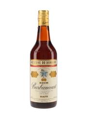Barbancourt 15 Year Old Reserve du Domaine Rhum Bottled 1960s-1970s - D&C 75cl / 43%