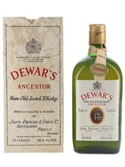 Dewar's Ancestor Bottled 1960s-1970s 75.7cl / 40%