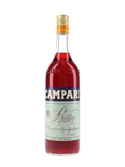 Campari Bitter Bottled 1980s-1990s - Duty Free 100cl