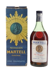 Martell Medallion Bottled 1960s 75cl