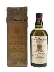 Ballantine's 17 Year Old Bottled 1970s 75cl