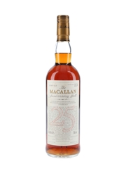 Macallan 1967 25 Year Old Anniversary Malt