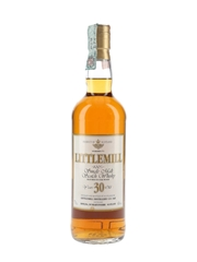 Littlemill 30 Year Old Bottled 1990s - F & G 70cl / 40%