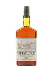 Strathisla 12 Year Old Bottled 1990s 100cl / 43%