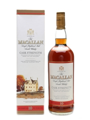 Macallan 10 Year Old Cask Strength  100cl