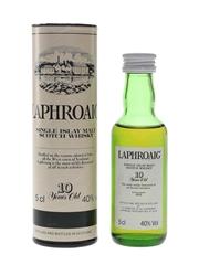 Laphroaig 10 Year Old Bottled 1990s - Pre Royal Warrant 5cl / 40%