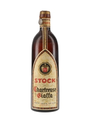 Stock Chartreuse Gialla Bottled 1950s 70cl / 40%