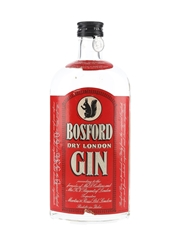Bosford Dry London Gin Bottled 1950s 75cl / 42%
