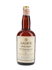 Haig's Gold Label Spring Cap Bottled 1960s - Ferraretto 75cl / 44%