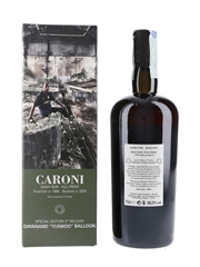 Caroni 1998 Heavy Rum Full Proof 4th Employees Release Bottled 2020 - Dayanand 'Yunkoo' Balloon 70cl / 68.3%