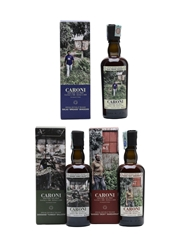 Caroni Employees Special Edition 4th Release 1998 Brigade, 1998 Yunkoo & 2000 Dicky 3 x 20cl