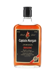 Captain Morgan Black Label Jamaica Rum Bottled 1980s 37.5cl / 40%
