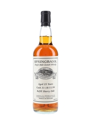 Springbank 1994 25 Year Old Private Single Cask 31 Bottled 2020 70cl / 50.4%