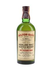 Miltonduff Glenlivet 13 Year Old Bottled 1970s - Salengo 75cl / 43%