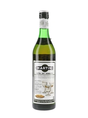 Martini Extra Dry Bottled 1980s 75cl / 17%