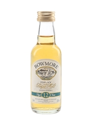 Bowmore 12 Year Old Bottled 1990s 5cl / 43%