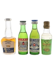 Assorted French Liqueurs