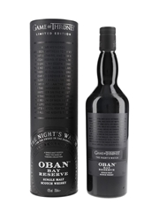 Oban Bay Reserve Game Of Thrones - The Night's Watch 70cl / 43%