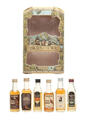 Whiskies Of The World Miniatures Set  6 x 5cl / 40%
