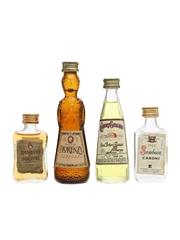 Assorted Italian Liqueurs Miniatures 2 x 3cl & 2 x 5cl