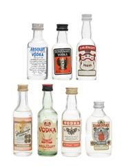 Assorted Vodka Miniatures  7 x 5cl
