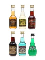 Bols Liqueurs Assorted Miniatures 4cl & 5 x 5cl