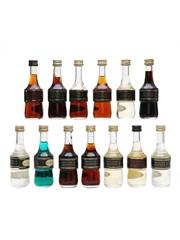 Marie Brizard Liqueurs Assorted Miniatures 13 x 5cl