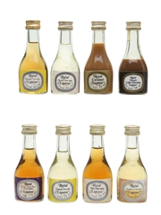Peter Hallgarten Royal Liqueurs Assorted Miniatures 8 x 2.8cl