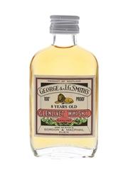 Glenlivet 8 Year Old 100 Proof Bottled 1970s - Gordon & MacPhail 5cl / 57%