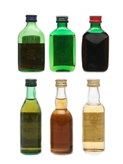 Vermouth Miniatures Incl. Martini & Noilly Prat 6 x 5cl