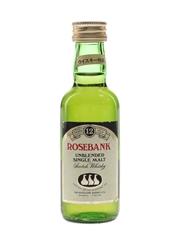 Rosebank 12 Year Old Bottled 1980s - Japanese Market 5cl / 43%