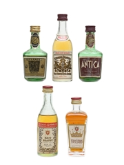 Cyprus Brandy Miniatures  5 x 5cl