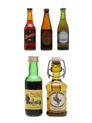 Buckfast, Scrumpy & Stout Assorted Miniatures 2 x 5cl & 3 x 2cl