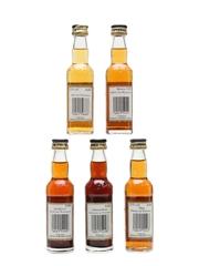 Berentzen Fruit Liqueurs  5 x 4cl