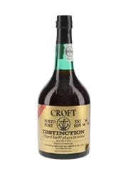 Croft Distinction 10 Year Old Bottled 1977 70cl