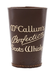 McCallum's Perfection Scots Whisky Leather Dice Cup