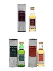 McClelland's Regional Single Malts  3 x 5cl / 40%