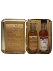 Glenmorangie Port Wood Finish & 10 Year Old Set Bottled 2000s 2 x 5cl