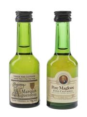 Marquis D'Aguesseau & Pere Magloire Calvados  2 x 3cl / 40%