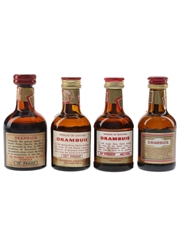Drambuie Bottled 1960s & 1990s 4 x 5cl / 40%