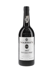 Warre's 1977 Vintage Port Bottled 1979 75cl / 21%
