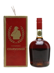 Courvoisier 3 Star Luxe Cognac Bottled 1970s 94.5cl