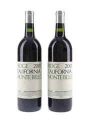 Ridge Monte Bello 2001 40th Anniversary Vintage 2 x 75cl / 14%