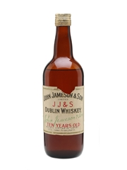 Jameson 10 Year Old Bottled 1950s - A Millar & Co 75cl / 40%