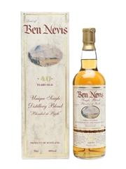 Ben Nevis 40 Year Old Single Blend Blended At Birth 70cl / 40%