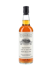 Springbank 1994 25 Year Old Private Single Cask 31
