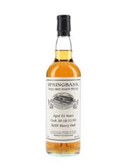 Springbank 1994 25 Year Old Private Single Cask 30