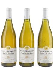 Alain Chavy Puligny Montrachet 2005 Premier Cru Les Folatieres 3 x 75cl / 13.5%