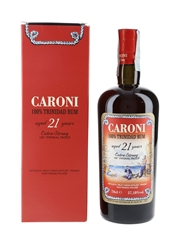 Caroni 1996 21 Year Old Extra Strong Trinidad Rum Bottled 2017 - Velier 70cl / 57.18%